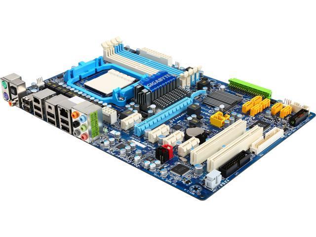 GIGABYTE GA-MA770T-UD3P AM3 AMD 770 ATX AMD Motherboard