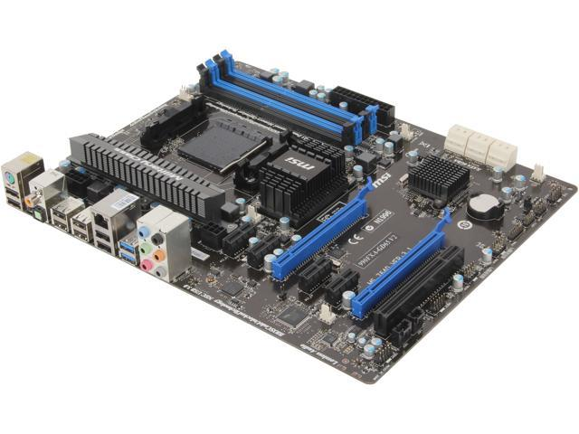 MSI 990FXA-GD65V2 Desktop Motherboard - AMD 990FX Chipset - Socket AM3+