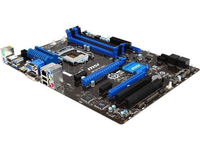 MSI Z87-G41 PC MATE-R LGA 1150 Intel Z87 HDMI SATA 6Gb/s USB 3.0 ATX High Performance CF Intel Motherboard Certified Refurbished