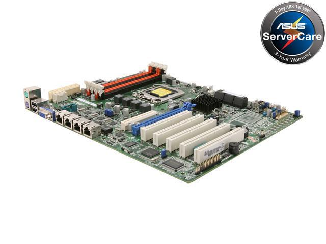 ASUS P8B-C/4L ATX Server Motherboard LGA 1155 Intel C202 DDR3 1600/1333/1066