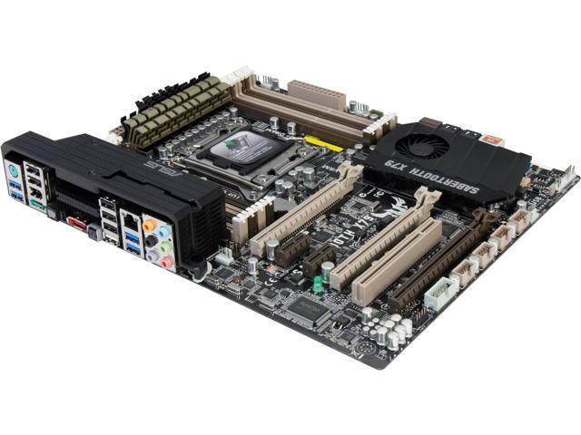 ASUS Sabertooth X79 LGA 2011 Intel X79 SATA 6Gb/s USB 3.0 ATX Intel Motherboard