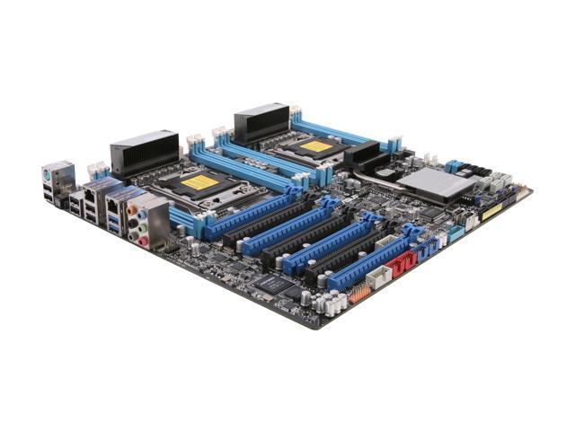 ASUS Z9PE-D8 WS Dual LGA 2011 Intel C602 SATA 6Gb/s USB 3.0 SSI EEB Intel Motherboard