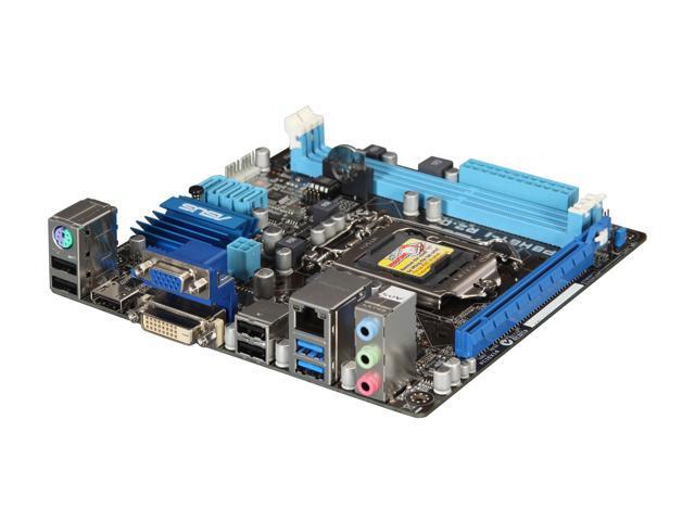 ASUS P8H61-I R2.0 LGA 1155 Intel H61 HDMI USB 3.0 Mini ITX Intel Motherboard with UEFI BIOS