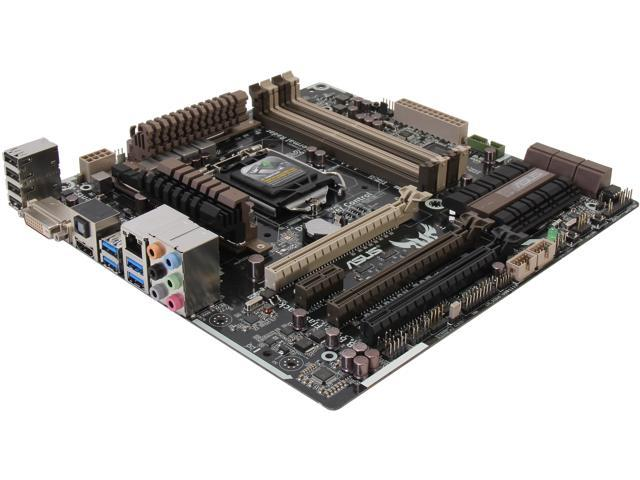 ASUS GRYPHON Z87 LGA 1150 Intel Z87 HDMI SATA 6Gb/s USB 3.0 uATX Intel Motherboard