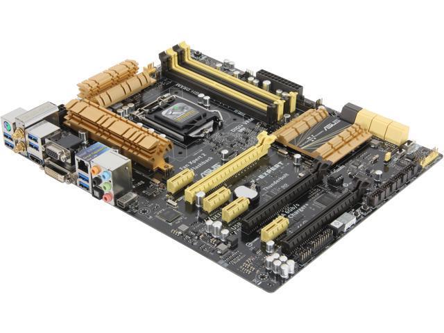 ASUS Z87-EXPERT LGA 1150 Intel Z87 HDMI SATA 6Gb/s USB 3.0 ATX Intel Motherboard