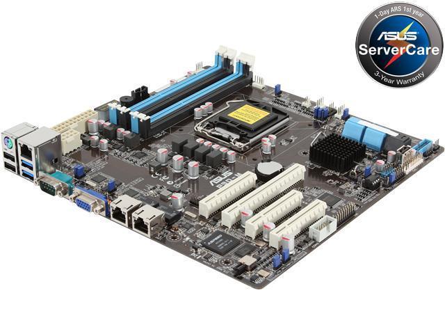 ASUS P9D-M Micro ATX Server Motherboard LGA 1150 DDR3 1600/1333