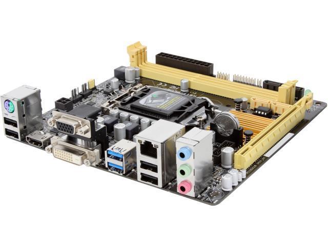 ASUS H81I-PLUS LGA 1150 Intel H81 HDMI SATA 6Gb/s USB 3.0 Mini ITX Intel Motherboard
