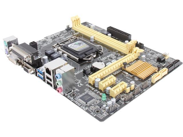 ASUS H81M-D PLUS LGA 1150 Intel H81 SATA 6Gb/s USB 3.0 Micro ATX Intel Motherboard