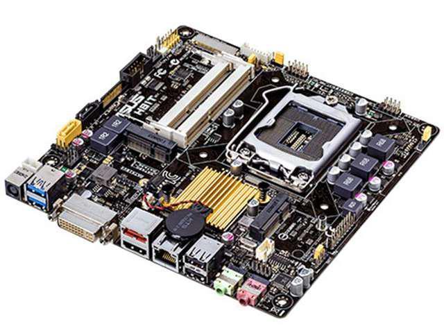 ASUS H81T/CSM/C/SI LGA 1150 Intel H81 HDMI SATA 6Gb/s USB 3.0 Thin Mini-ITX Intel Motherboard (Bulk Pack, 10 PCS)