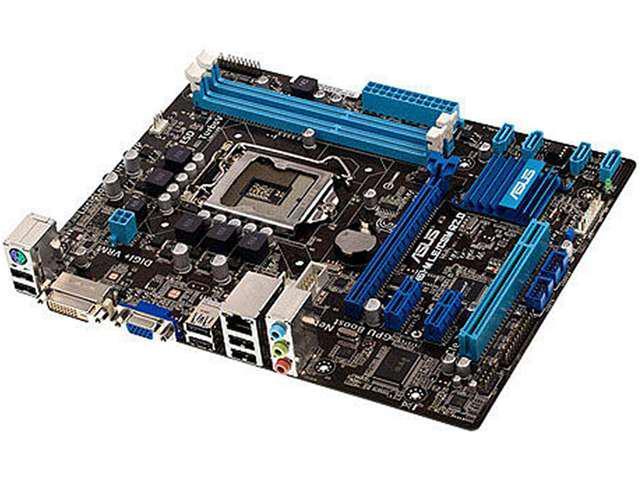 ASUS P8H61-M LE/CSM R2.0/C/SI LGA 1155 Intel H61 Micro ATX Intel Motherboard (Bulk Pack, 10 PCS) - OEM
