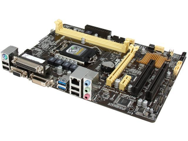 ASUS B85M-D PLUS LGA 1150 Intel B85 SATA 6Gb/s USB 3.0 Micro ATX Intel Motherboard
