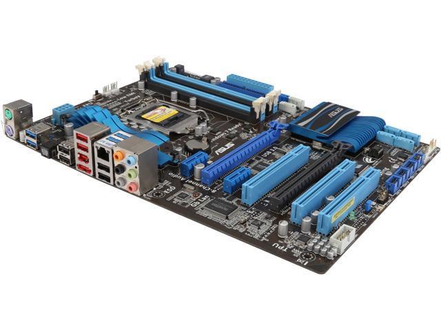 ASUS P8P67 LE-R LGA 1155 Intel P67 SATA 6Gb/s USB 3.0 ATX Intel Motherboard - Certified - Grade A