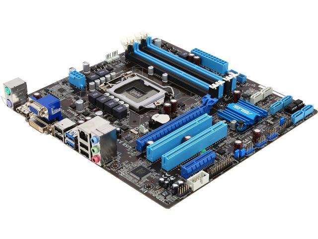 ASUS P8Q77-M/CSM-R LGA 1155 Intel Q77 SATA 6Gb/s USB 3.0 Micro ATX Intel Motherboard - Certified - Grade A