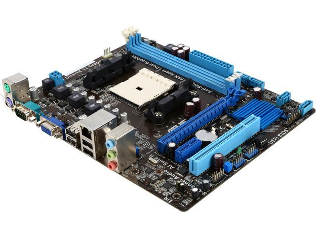 ASUS F1A55-M LX3-R FM1 AMD A55 (Hudson D2) uATX AMD Motherboard