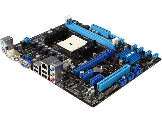 ASUS F2A55-M LK PLUS-R FM2 AMD A55 (Hudson D2) Micro ATX AMD Motherboard with UEFI BIOS