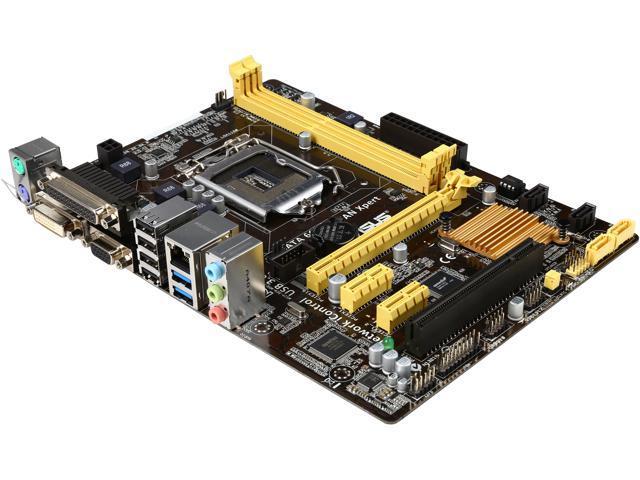 ASUS H81M-C/CSM-R LGA 1150 Intel H81 SATA 6Gb/s USB 3.0 Micro ATX Intel Motherboard Certified Refurbished