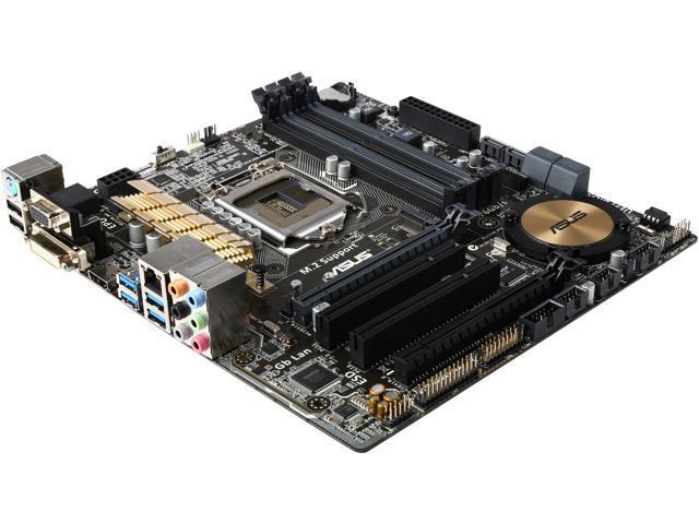 ASUS Z97M-PLUS-R LGA 1150 Intel Z97 HDMI SATA 6Gb/s USB 3.0 Micro ATX Intel Motherboard