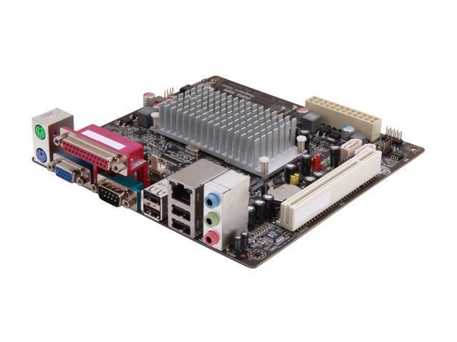 ECS CDC-I/D2550 v1.0 Intel Atom D2500 Intel NM10 Mini ITX Motherboard/CPU Combo