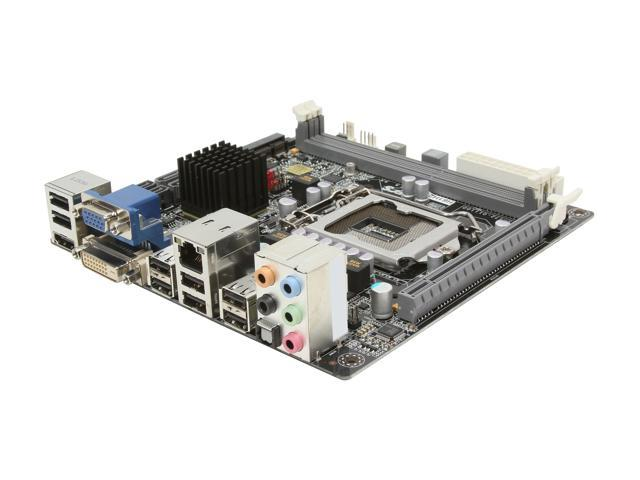 ECS H61H2-I v1.1 LGA 1155 Intel H61 HDMI Mini ITX Intel Motherboard