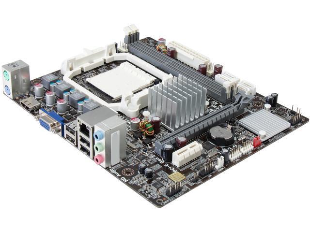 ECS A960M-MV(1.0A) AM3+ AMD 760G HDMI Micro ATX AMD Motherboard