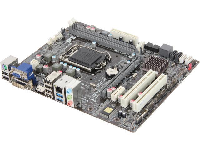 ECS B85H3-M3(1.0) LGA 1150 Intel B85 HDMI SATA 6Gb/s USB 3.0 Micro ATX Intel Motherboard