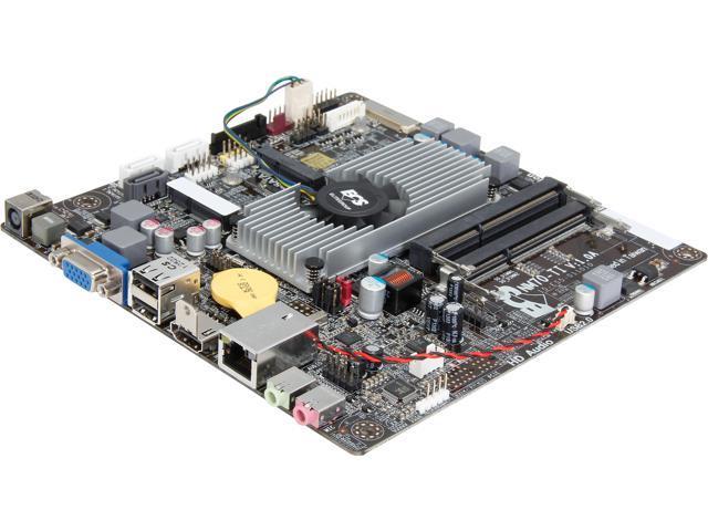 ECS NM70-TI (V1.0A) Intel Celeron 847/807 Intel NM70 Thin Mini-ITX Motherboard/CPU/VGA Combo