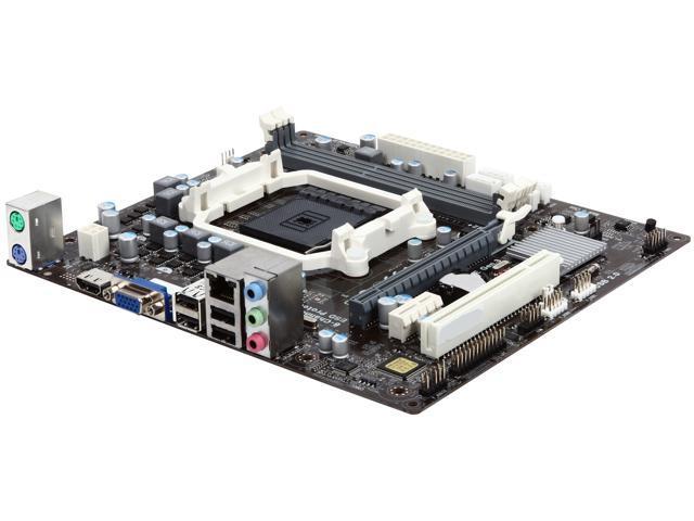 ECS A55F2P-M2 FM2+ / FM2 AMD A55 (Hudson D2) HDMI Micro ATX AMD Motherboard