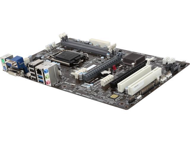 ECS H81H3-A3 LGA 1150 Intel H81 HDMI SATA 6Gb/s USB 3.0 ATX Intel Motherboard
