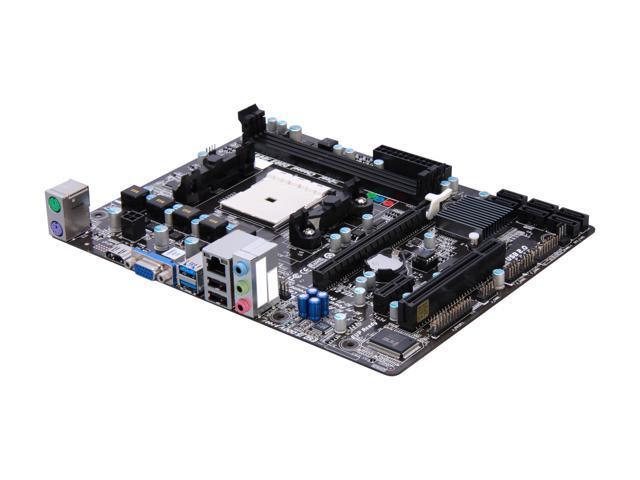 BIOSTAR Hi-Fi A85S3 FM2 AMD A85X (Hudson D4) HDMI SATA 6Gb/s USB 3.0 Micro ATX AMD Motherboard