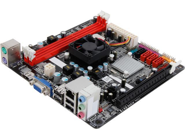 BIOSTAR NM70I-1037U Intel Celeron 1037U Dual-Core 1.8GHz Intel NM70 Mini ITX Motherboard/CPU/VGA Combo