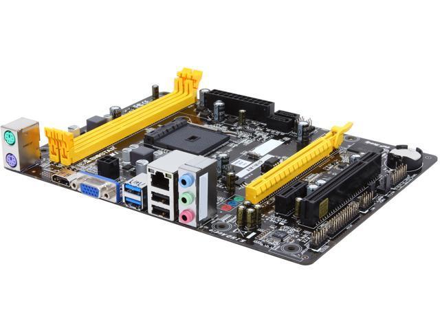 BIOSTAR AM1MHP AM1 HDMI SATA 6Gb/s USB 3.0 Micro ATX AMD Motherboard