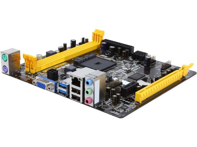 BIOSTAR AM1ML AM1 2 x SATA 6Gb/s USB 3.0 Micro ATX AMD Motherboard