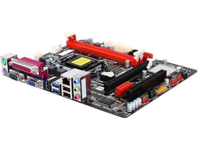 BIOSTAR H81MHP2 LGA 1150 Intel H81 HDMI SATA 6Gb/s USB 3.0 Micro ATX Intel Motherboard