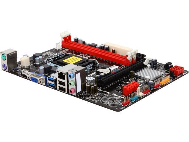 BIOSTAR H81MHC LGA 1150 Intel H81 HDMI SATA 6Gb/s USB 3.0 Micro ATX Intel Motherboard