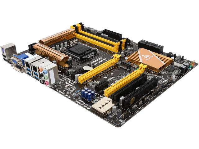 BIOSTAR Hi-Fi Z97WE LGA 1150 Intel Z97 HDMI SATA 6Gb/s USB 3.0 ATX Intel Motherboard