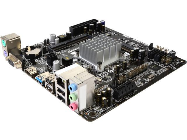 BIOSTAR J1800NH3 Intel Celeron J1800 (2.41GHz) Dual-Core Processor Mini ITX Motherboard/CPU Combo