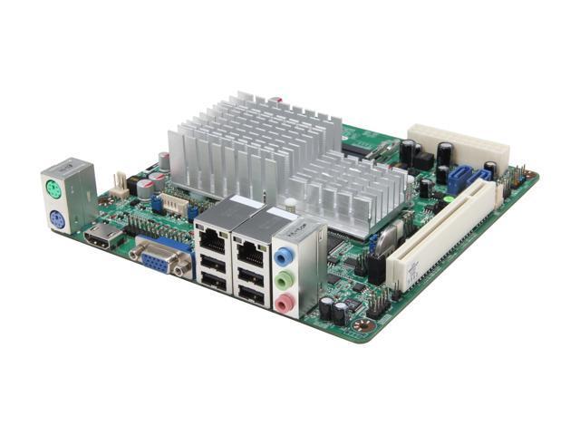 JetWay JNC9KDL-2550 Intel Atom D2550 Intel NM10 Mini ITX Motherboard/CPU Combo