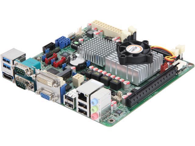 JetWay JNC9Q-847 Intel NM70 HDMI SATA 6Gb/s USB 3.0 Mini ITX Intel Motherboard