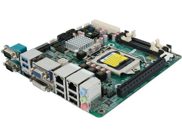JetWay JNF9J-Q87 LGA 1150 Intel Q87 HDMI SATA 6Gb/s USB 3.0 Mini ITX Intel Motherboard