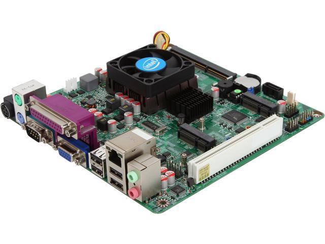 JetWay JNL10-I525 Intel Atom D525 1.80GHz Intel NM10 Mini ITX Motherboard/CPU Combo