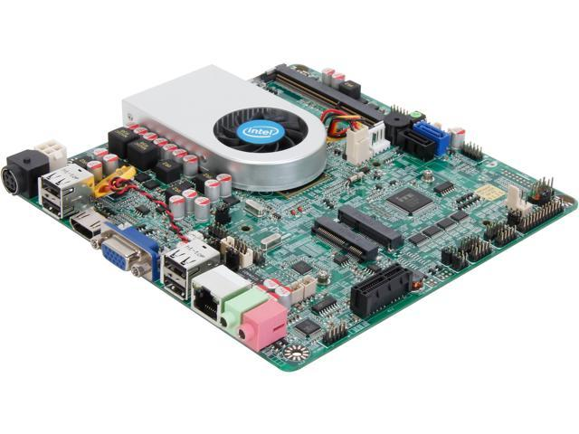 JetWay JNL70-I1037 Intel Celeron 1037U 1.80GHz Intel NM70 Mini ITX Motherboard/CPU/VGA Combo
