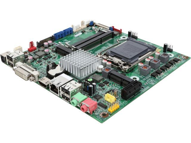 JetWay NC9FL-H61 LGA 1155 Intel H61 HDMI Thin Mini-ITX Intel Motherboard