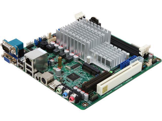 JetWay JNF96U-525-LF Intel Atom D525 (Dual-Core 1.8GHz) Mini ITX Motherboard/CPU/VGA Combo