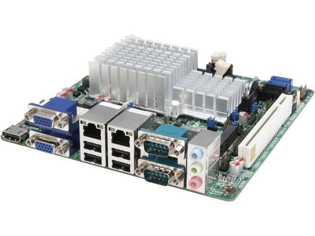 JetWay JNF9B-2550 Intel Atom D2550 1.86GHz Intel NM10 Mini ITX Motherboard/CPU/VGA Combo
