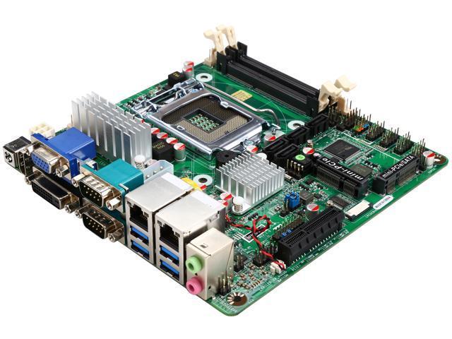 JetWay JNF9QU-Q87 LGA 1150 Intel Q87 (AKA Lynx Point) SATA 6Gb/s USB 3.0 Mini ITX Intel Motherboard
