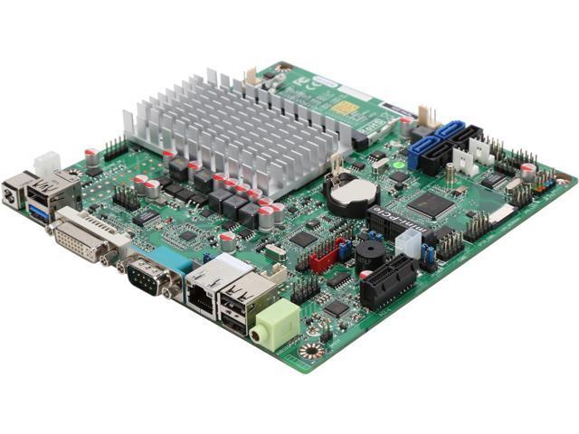 JetWay NF9W-2930 Intel Celeron N2930 SoC, 1.83GHz - 2.16GHz Burst, Quad-Core, 7.5W TDP/4.5W SDP Thin Mini-ITX Motherboard/CPU/VGA Combo