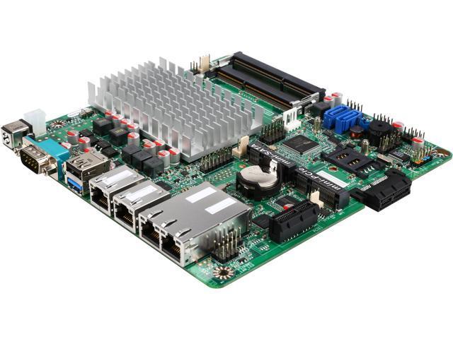 JetWay JNF9HG-2930 Intel Celeron N2930 SoC, 1.83GHz - 2.16GHz Burst, Quad-Core, 7.5W TDP/4.5W SDP Mini ITX Motherboard/CPU/VGA Combo