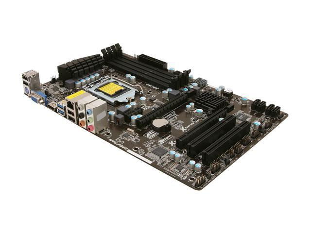 ASRock Z75 Pro3 LGA 1155 Intel Z75 HDMI SATA 6Gb/s USB 3.0 ATX Intel Motherboard