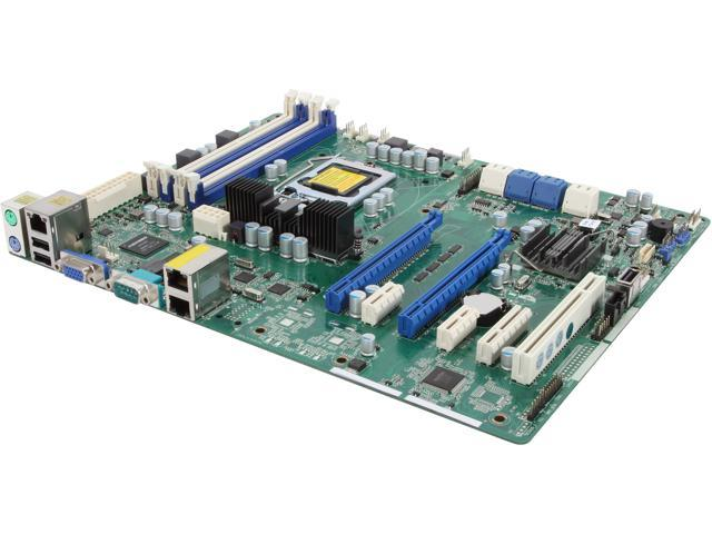 ASRock E3C204 ATX Server Motherboard LGA 1155 Intel C204 DDR3 1600/1333/1066