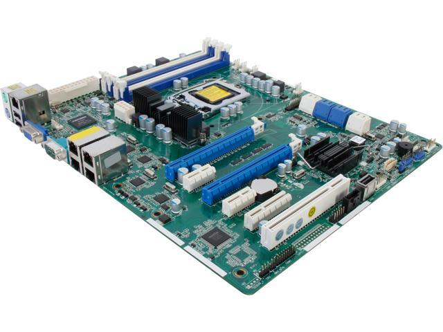 ASRock E3C204-4L ATX Server Motherboard LGA 1155 Intel C204 DDR3 1600/1333/1066